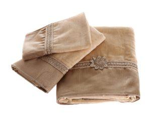 מגבת דגם שיק בז'