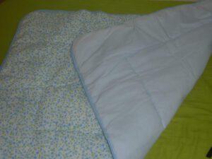 שמיכה מתופרת 100% כותנה