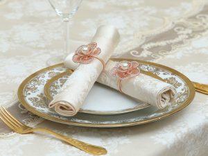 מפיות וחבקים דגם לינוי – שמפניה