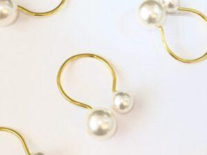 חבק פנינה טבעת זהב
