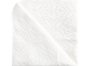 מפית בד אזור לבן – סט 6 יח'