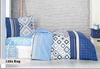 מצעים למיטת תינוק דגם קינג