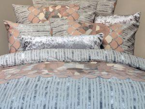 מצעים לחדר שינה דגם יהלום