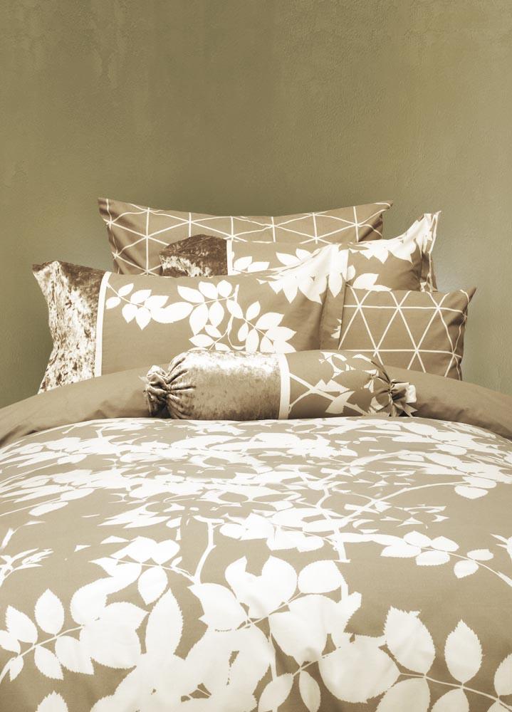 מצעים לחדר שינה דגם פלקס בז'