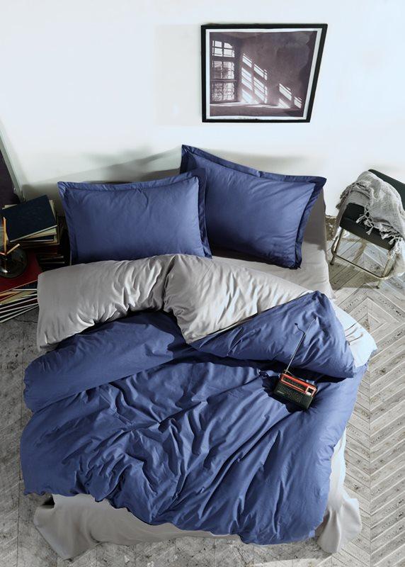 מצעים דגם פרסטיג כחול-אפור