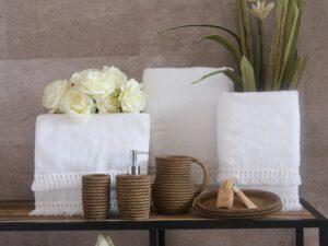 כלי אמבטיה דגם ונציה חום