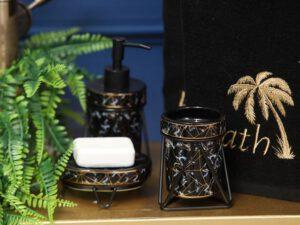כלי אמבטיה דגם טקסס שחור