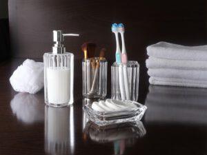 כלי אמבטיה דגם קריסטל 4 חלקים