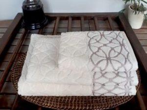 מגבת דגם לוונטה קרם